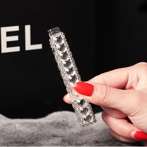 Slim Diamond women's lipstick lighter,Rechargeable butane gas lighter,gift - coolelectronicstore.com