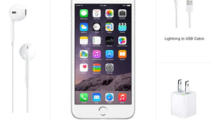 Original iPhone 6 Plus Cellphone Unlocked 5.5 Inches 1GB RAM 16/64/128GB ROM Dual Core IPS 8MP Camera LTE IOS - coolelectronicstore.com
