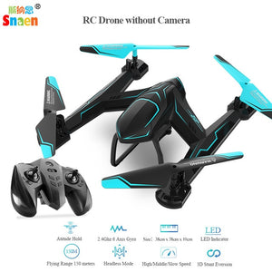 Snaen RC Drone Helicopter with HD Camera 2.4Ghz 6 Axis Gyro 4 Channels Remote Control Quadcopter Kits Easy to Fly for Beginners - coolelectronicstore.com