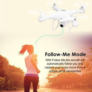 SJ R/C S20W FPV 720P 1080P CAMERA SELFIE ALTITUDE HOLD DRONE HEADLESS MODE AUTO RETURN TAKEOFF/LANDING HOVER GPS RC QUADCOPTER - coolelectronicstore.com