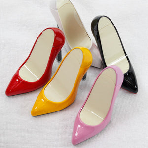 Creative Fashion Novelty High Heels Shape Lighters Refillable Butane Gas Cigarette Lighter Best Gift For Smokers NO GAS - coolelectronicstore.com
