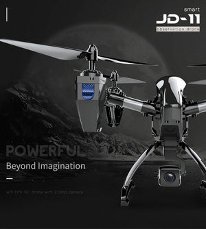 Selfie Drone With Camera HD 2MP Long Flying 2.4G WiFi FPV Remote Control Quadcopter Aircraft 6-Axis Drone RC Helicopter - coolelectronicstore.com