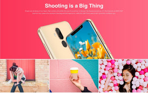 Water Drop Screen Android Fingerprint Face ID Smartphone - coolelectronicstore.com