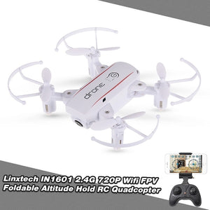 Linxtech IN1601 480P 720P Mini RC Drone with Camera - coolelectronicstore.com
