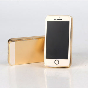 Fashion Mini phone Lighter Metal USB Rechargeable Electronic Lighter Portable Charge Cigarette Lighter Encendedor Cigar Fire - coolelectronicstore.com