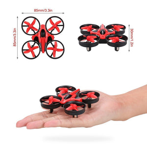 Mini 2.4G 4CH Quadcopter RC Drone 6 Axis Headless Mode RC Quadcopter RTF LED Light Eachine E010 JJRC touH36 xmas gifts for kids - coolelectronicstore.com