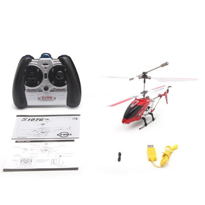 Original Syma S107G Mini Gyro Metal Infrared Radio 3CH Helicopter RC Remote Control Flying Drone - coolelectronicstore.com