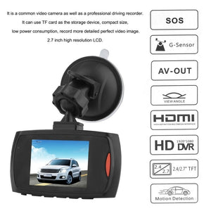 HD 720P Car DVR Camera Dash Cam Video 2.4inch LCD LCD DisplayNight Vision Vehicle Camera Recorder Night Vision drop shipping - coolelectronicstore.com