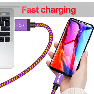Micro USB Cable 1m 2m 3m Fast Charge USB Data Cable for Samsung S6 S7 Xiaomi 4X LG Tablet Android Mobile Phone USB Charging - coolelectronicstore.com