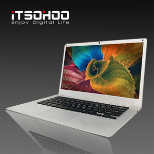 Cheapest New 14.1 inch laptop computer With 4GB 64GB BT4.0  Intel Quad Core Z8350 Windows 10  iTSOHOO Laptops - coolelectronicstore.com