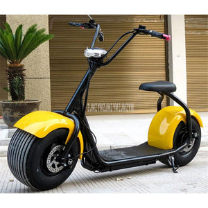 Cool Style Big 2 Wheel New Harley Electric Vehicle Adult Pedal Electric Bicycle Motorcycle Scooter With Seat Mileage 40km 1000W - coolelectronicstore.com