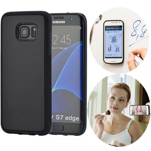 Luxury Anti Gravity Phone Cover Nano Suction Selfie Magical Soft Silicon Back Case For Samsung S6 S7 Edge S8 Plus Note 8 5 Capa - coolelectronicstore.com