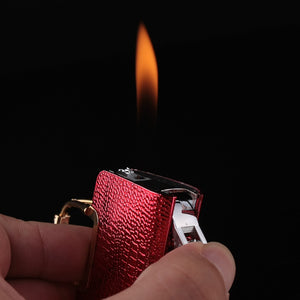 Creative Compact Handbag Jet Lighter Butane Bag Inflated Fire Lighter Bar Metal Funny Toys No Gas - coolelectronicstore.com