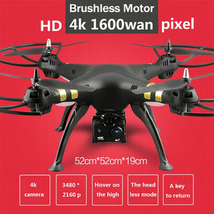 X8 drone professional dual GPS quadcopter WIFI real-time image transmission brushless motor 4K HD aerial drone RC helicopter - coolelectronicstore.com
