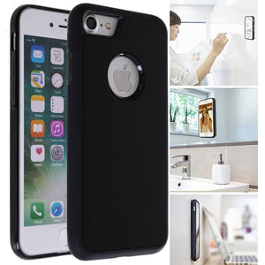 Anti Gravity Phone Case For iPhone XS Max XR X 8 7 6 S 6S Plus Antigravity Magical Nano Suction Cover Adsorbed Car Case - coolelectronicstore.com