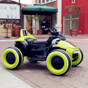 children kid baby electric car rideable Luminous four-wheeled motorcycle with remote control Can ride off-road vehicles - coolelectronicstore.com