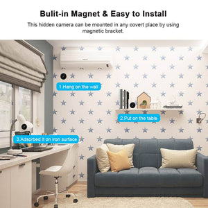 Home Security Wifi IP Camera 1080P HD Wireless Mini CCTV Camera Night Vision Video Surveillance Cam APP Control For Baby Monitor - coolelectronicstore.com
