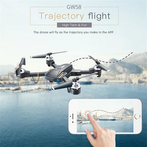 E58 Attitude Hold 2.4Ghz 4CH 1080P HD Camera Wifi FPV RC Drone Selfie Quadcopter Gift 2018 Brusting Airplanes Christmas gift - coolelectronicstore.com