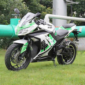 Three colors large electric motorcycle adult outdoor - coolelectronicstore.com
