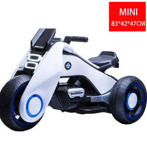 Children's Electric Motorcycle Tricycle Child Toy Charging Double Drive Girl and Boys Baby Stroller Ride on Cars Outdoor Fun - coolelectronicstore.com