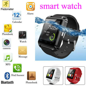 Sport Smart Watch Bluetooth Bracelet Wristband BT Music Player Camera Hands Free Call Intellegent Stopwatch For Apple Android - coolelectronicstore.com