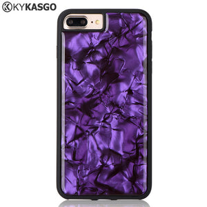 Luxury cowry Anti Gravity Phone Bag Case For iPhone X 8 7 6S Plus Antigravity TPU PC Magical Nano Suction Cover Adsorbed Case - coolelectronicstore.com