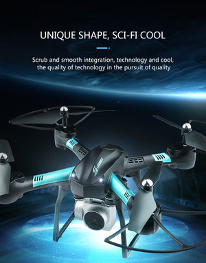 Original S11T HD drone wide-angle HD 1080p Quadcopter aircraft one-touch landing / takeoff WIFI transmission Rc helicopter - coolelectronicstore.com