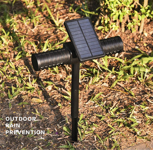 ETONTECK Solar/USB Charging Mosquito Killer UV LED Lamp Insect Trap Light Automatic Switch Mosquito Ant Fly Bug Lighting IP65 - coolelectronicstore.com