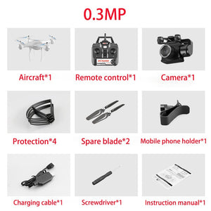 Drone 4K S32T rotating camera quadcopter HD aerial photography air pressure hover a key landing flight 20 minutes RC helicopter - coolelectronicstore.com