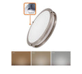 15 Inch Slim Flush Mount Ceiling Light - 3cct - 24W