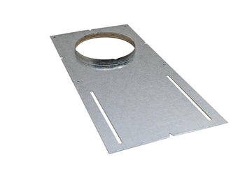 4 Inch Mounting Plate - With Lip