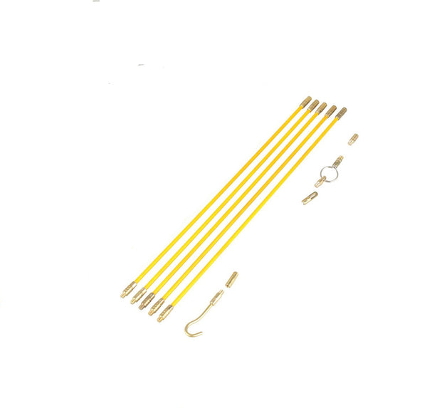 Fiberglass Cable Running Kit - 5 x 6.6 ft