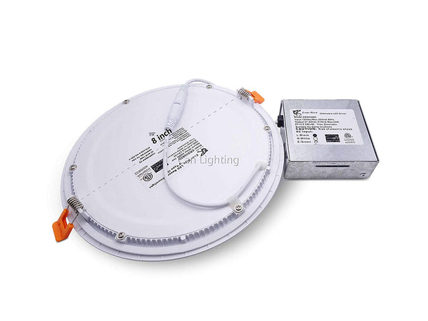 8 Inch Panel Light - 3CCT - 18W