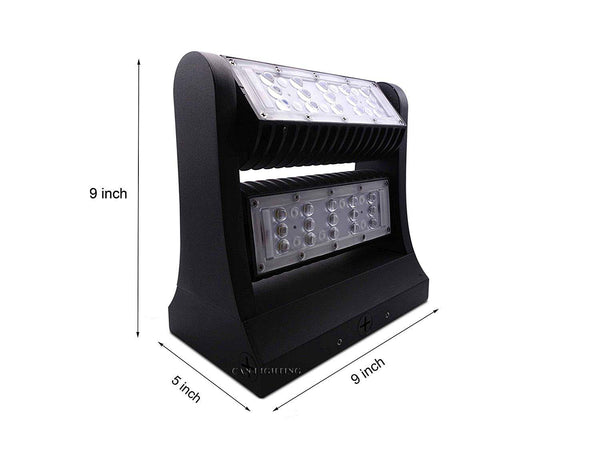 Direction Adjustable Wall Pack - 80W