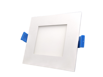 4 Inch Square Panel Light - 3CCT - 12W