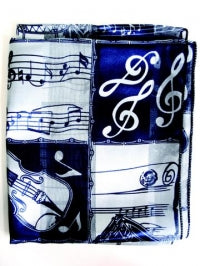 Beautiful musical scarf