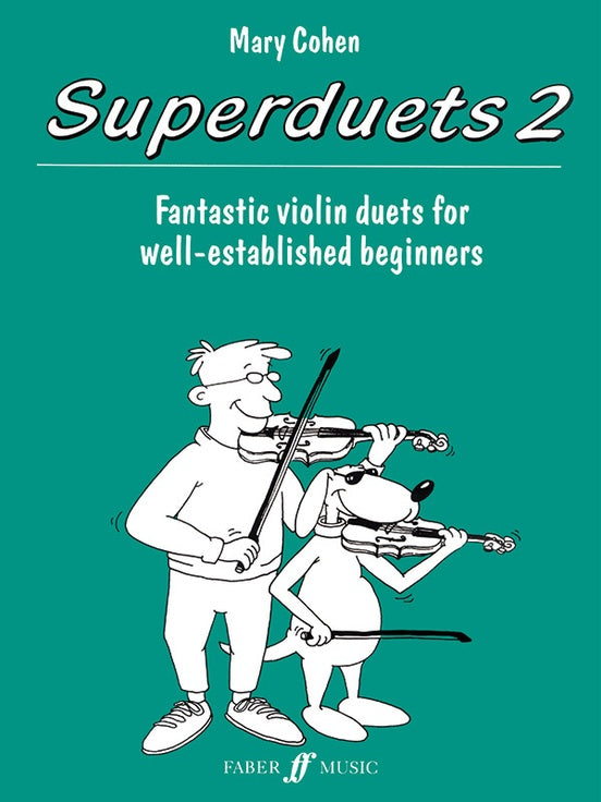 Superduets Book 2 by Mary Cohen (violin)