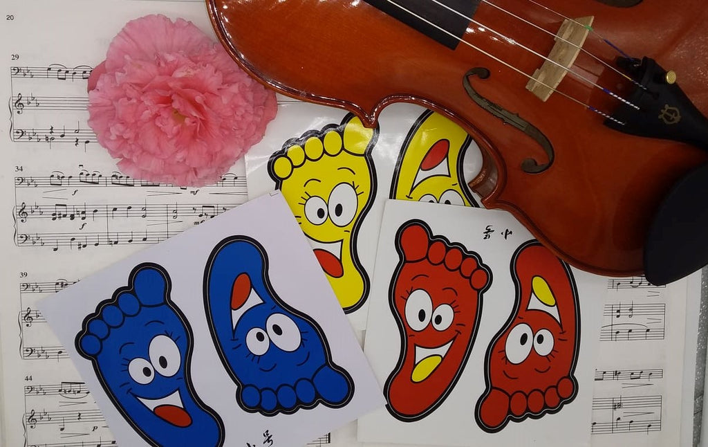 Footmat Stickers for Pre-twinkle footmats.