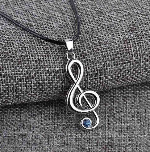 Trebel Clef Necklace - Suzuki Strings