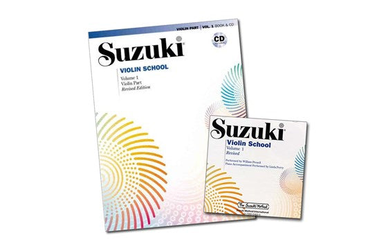 Suzuki Violin Book and CD Volumes 1-8 - Suzuki Strings