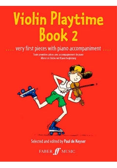 Violin Playtime Book 2 | Paul de Keyser