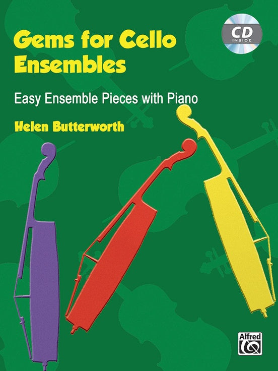 Gems for Cello Ensembles  Easy Ensemble Pieces with Piano