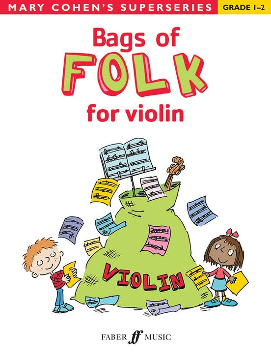 Bag of folk for Violin by Mary Cohen