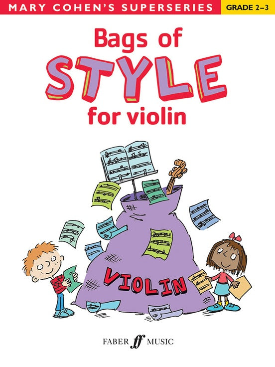 Bag of Style for violin by Mary Cohen