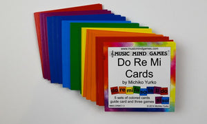 Do Re Mi Cards - Suzuki Strings