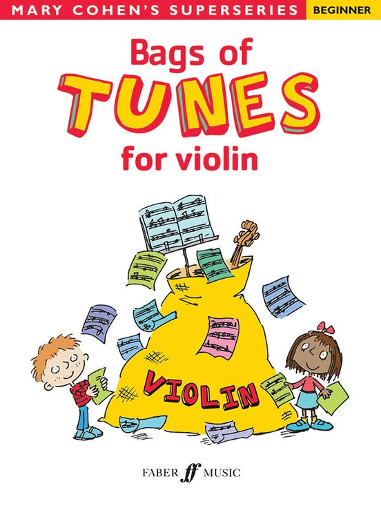 Bags of Tunes for Violin by Mary Cohen