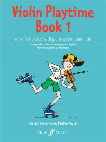Violin Playtime 1 by Paul De Keyser