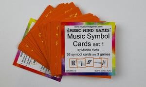 Music Symbol Cards - Suzuki Strings