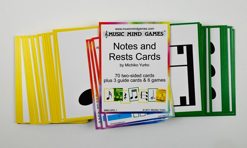 Notes and Rests Cards - Suzuki Strings