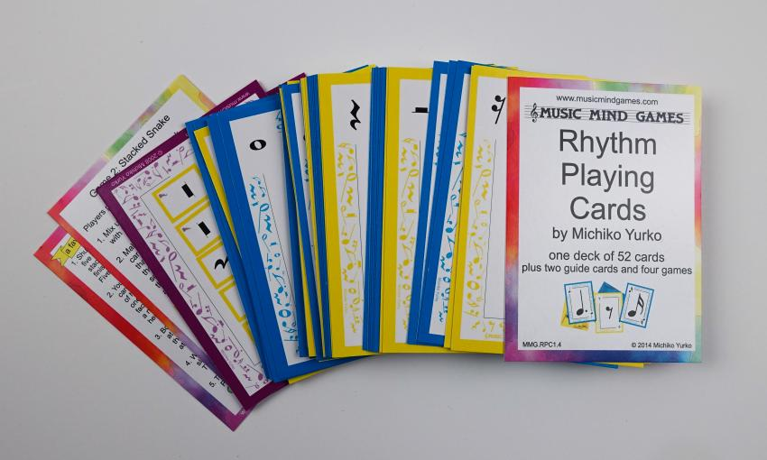 Rhythm Playing Cards - Suzuki Strings